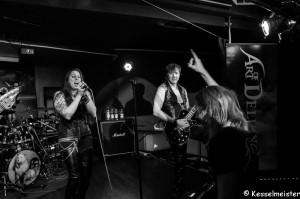 Melanie Aßhoff / Dominic Veit - Art of Delusion @ Rock meets Metal Festival